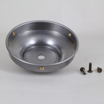 4in Fitter Unfinished Steel Shade Holder