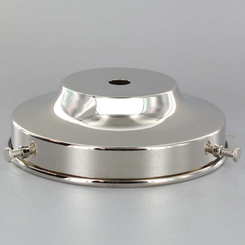 4in. Nickel Plated Finish Flat Holder
