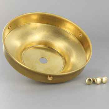 4in. Unfinished Brass Flat Holder
