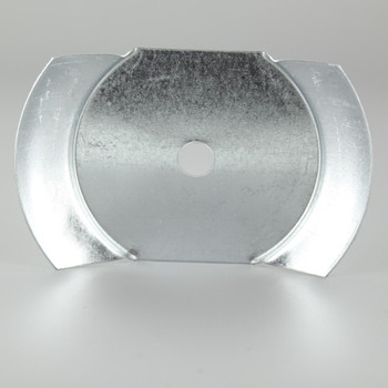 3in Steel Insert Holder For 3in Neckless Ball Opening - Unfinished Steel