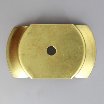 3in Steel Insert Holder For 3in Neckless Ball Opening - Unfinished Brass
