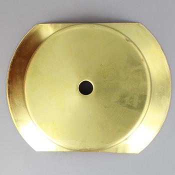 4in. Neckless Holder Insert - Unfinished Brass