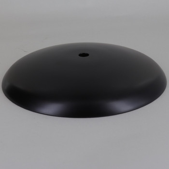 Black Finish Steel Cover for 5-1/4in Neckless Holder