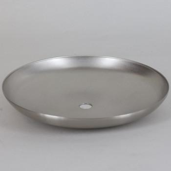 Satin Nickel Finish Cover for 4in Neckless Holder