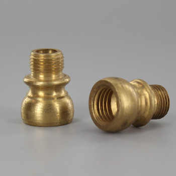 1/8ips Male X 7/16  Female European Threaded Unfinished Brass Nozzle