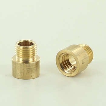 1/8ips Male X 3/8-16 UNC Female Unfinished Brass Straight Nozzle