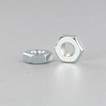 8/32 Thread Zinc Plated Steel Hex Head Nut