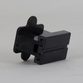 Black - SPT-1 Polarized Female Gilbert Plug Style Slide Together End Outlet