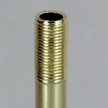 36in. Brass Plated Finish Pipe with 1/8ips. Thread