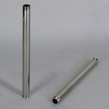 2in Pipe with 1/8ips Thread - Nickel Plated Finish