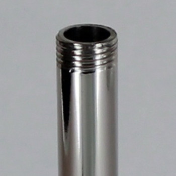 12in Pipe with 1/8ips. Thread - Nickel Plated