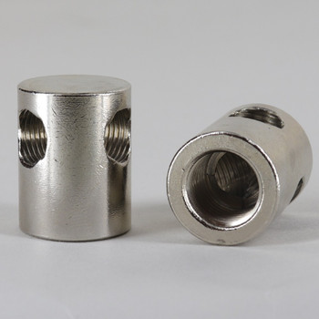 1/8ips Threaded - 1in x3/4in Y Armback - Polished Nickel