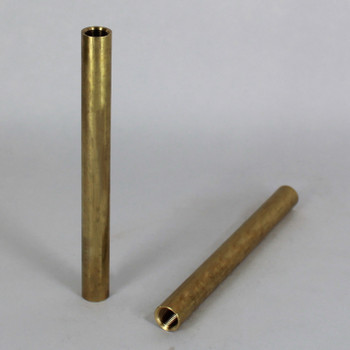 6in. Unfinished Brass Pipe with 1/8ips. Female Thread