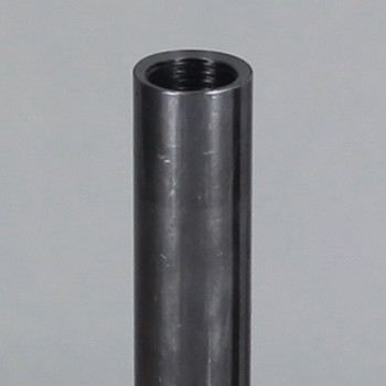 6in. Unfinished Steel Pipe with 1/8ips. Female Thread