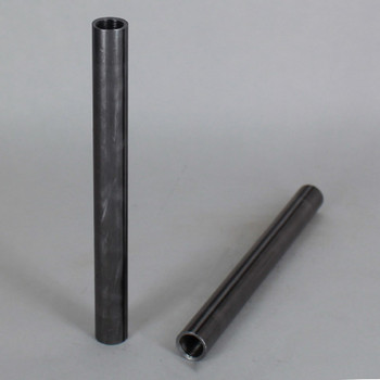 10in. Unfinished Steel Pipe with 1/8ips. Female Thread