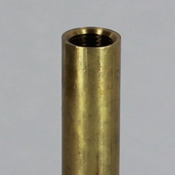 8in. Unfinished Brass Pipe with 1/8ips. Female Thread