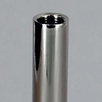 12in. Polished Nickel Finish Pipe with 1/8ips. Female Thread