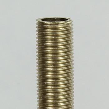 36in. Unfinished Brass 1/8ips. Running Thread