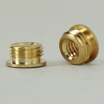 10/24 Female X 1/8ips. Male Thread Unfinished Brass Reducer with Shoulder