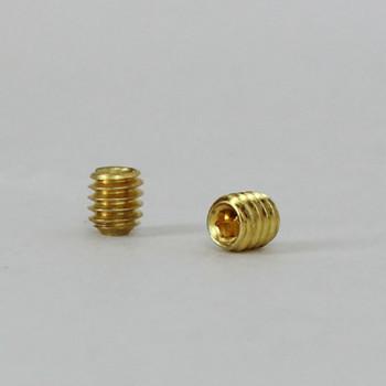 8/32 x 3/16in. Brass Set Screw