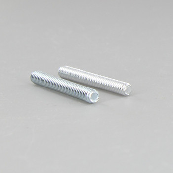 1-1/4in Long X 8/32 Threaded Unfinished Steel Stud