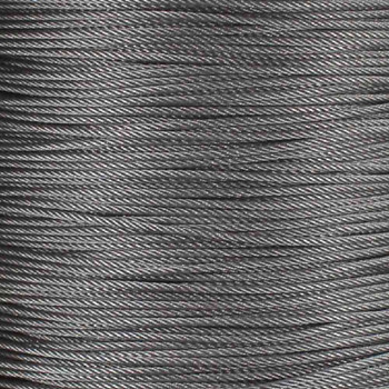 500FT Spool 1/16in Diameter Stainless Steel Wire Rope for use with Suspension System