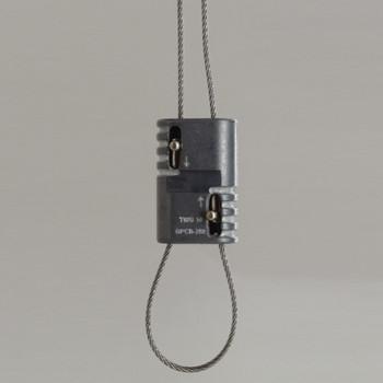 2-way Loop Suspension System Loop Gripper tool less wire gripping mechanism.