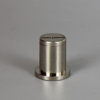 Polished Nickel Finish Brass Ceiling Attachment for use with Cable Gripper