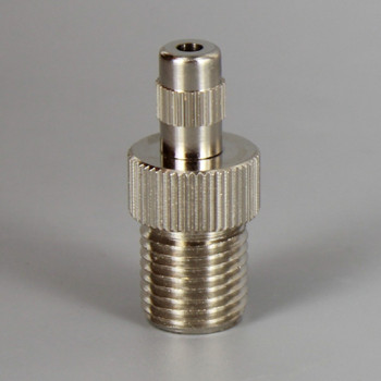Nickel Finish Brass 1/4ips Male Threaded Suspension Gripper with and Cable Locking Nut