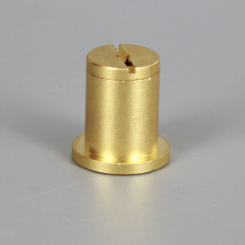 Unfinished Brass Ceiling Attachment for use with Cable Gripper