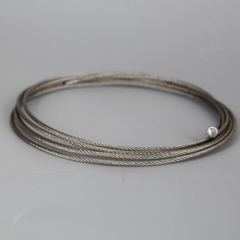 5Ft Long 1/16in Diameter Stainless Steel Wire Rope