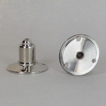 Polished Nickel Finish Brass 3- Hole Ceiling Attachment for use with Cable Gripper
