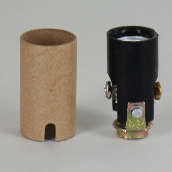 1-1/2in. Candelabra Lamp Socket with 1/8ips. Threaded Hickey and Cardboard Insulator