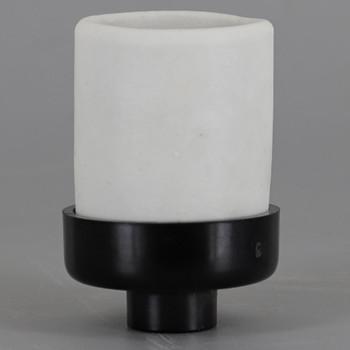 E-26 Porcelain Socket With 1/8ips Threaded Phenolic Cap. Socket Rated Maximum 660W , 250V. UL Listed