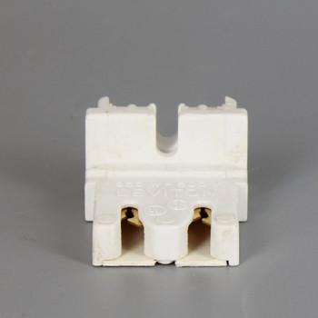 Leviton - T8 Bi-Pin Standard Fluorescent Lampholder