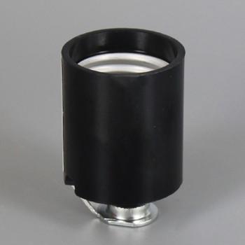 Leviton - E-26 Phenolic Socket with 1/8-27ips. Hickey