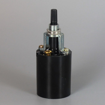 Leviton - 1 Piece Phenolic Rotary Switch Bottom Turn Socket