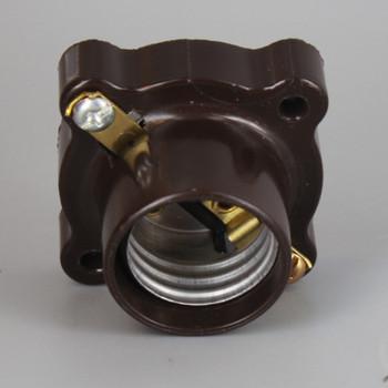 Leviton - E-26 Phenolic Pony Cleat Lamp Socket