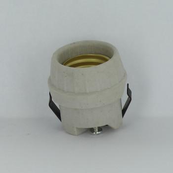 Leviton - E-26 Base Porcelain Snap-In Socket