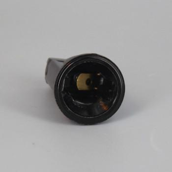 E-12 Base Phenolic Candelabra Pin-Type Carnival Style Socket