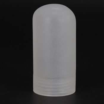 Frosted Glass G-9 Lamp Socket Lenses Cover for use with Threaded Skirt G-9 Type Lamp Holders