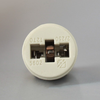 G9 Threaded Skirt Push Terminal Wire Connection Lamp Holder