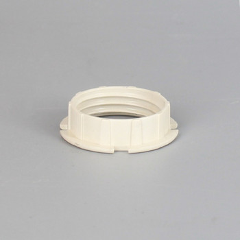 White Plastic Shade Ring for use with SOG9ADTand SOG9SM series lamp sockets