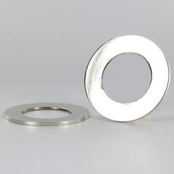 2-1/8 in. UNO-RING SMOOTH EDGE NICKEL PLATED