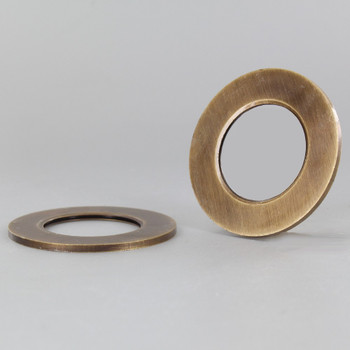 2-1/8 in. UNO-RING SMOOTH EDGE ANTIQUE BRASS