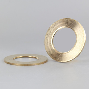 2-1/8 in. UNFINISHED BRASS UNO-RING WITH SMOOTH EDGE