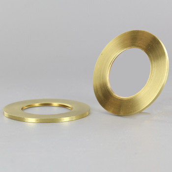 2-1/8 in. UNO-RING SMOOTH EDGE POLISHED BRASS