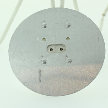 G5.3 Base Bi-Pin Porcelain Socket with Reflector and 6in. Leads