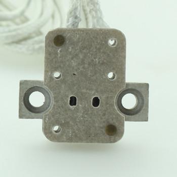 GX5.3 Base Bi-Pin  Porcelain Socket with 36in. Leads