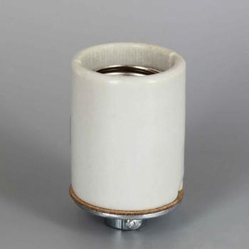 4KV-Pulse Rated Maximum  660W,600V Max  Medium Base Keyless Porcelain Lampholder.